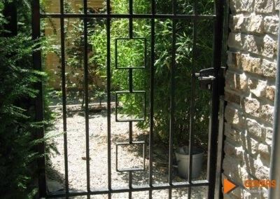 tuin poort