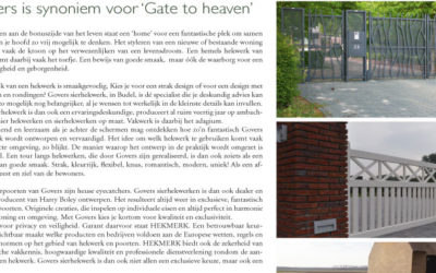 "Govers is synoniem voor ""Gate to heaven""!"