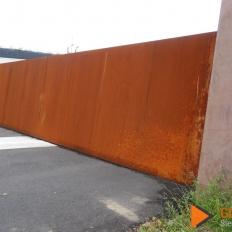 Cortenstaal poort
